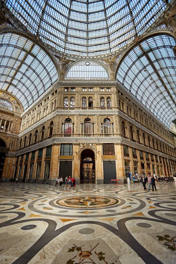 Galeria Umberto I - Naples - Italy