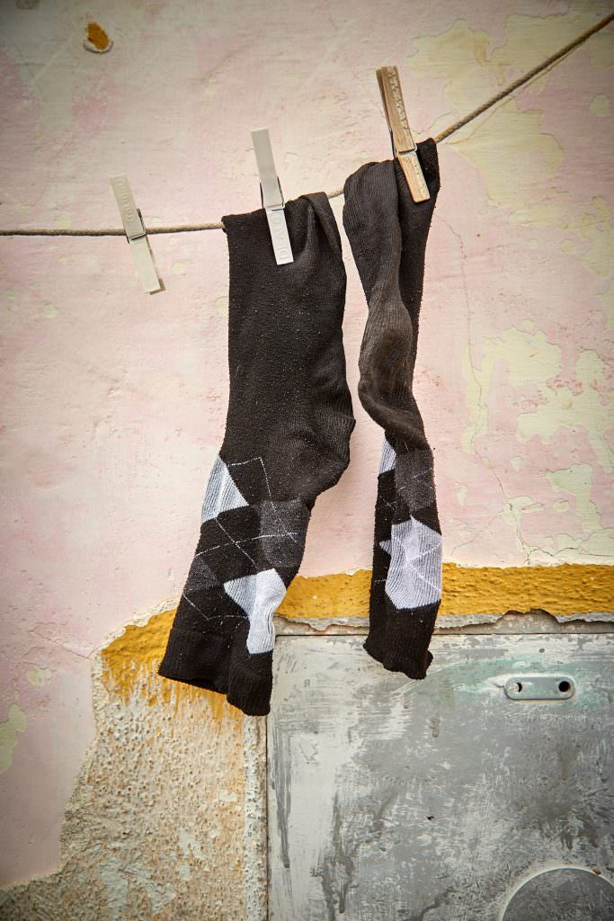 Drying Socks - Procida - Italy