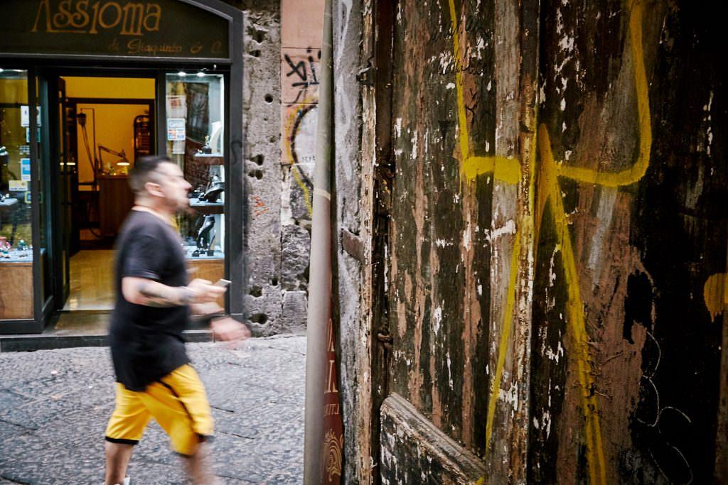 Rues de Naples - Italie