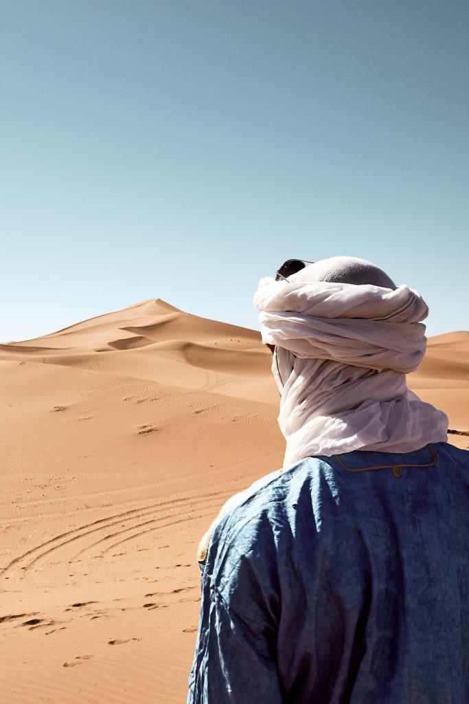 Touareg - Chigaga dunes - Morocco
