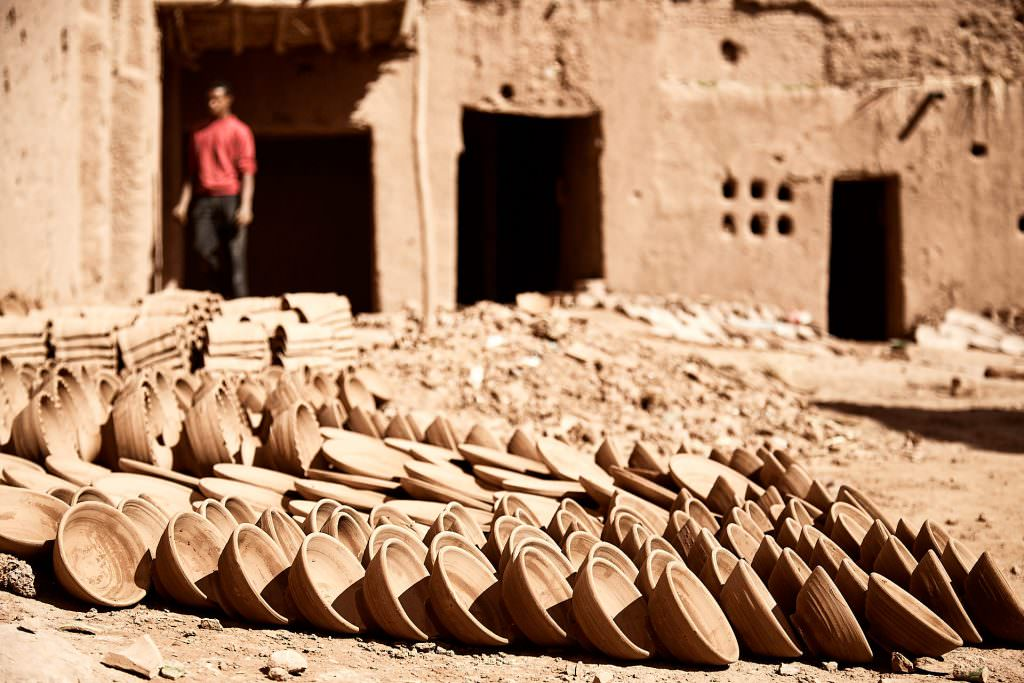 Drying Potteries - Tamegroute - Maroc
