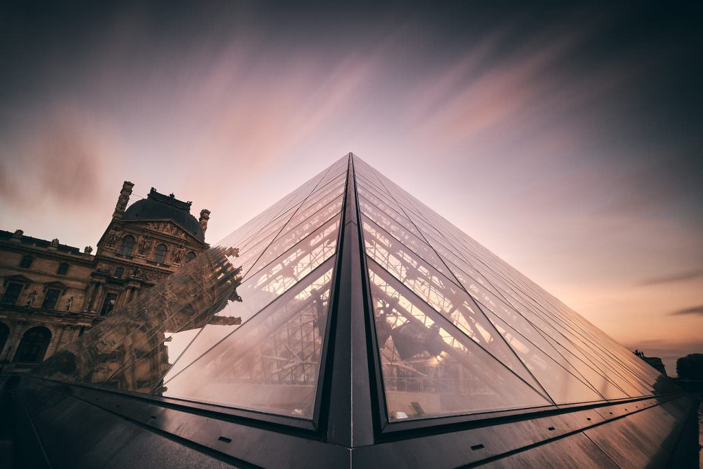 Pyramid of The Louvre - Paris - France