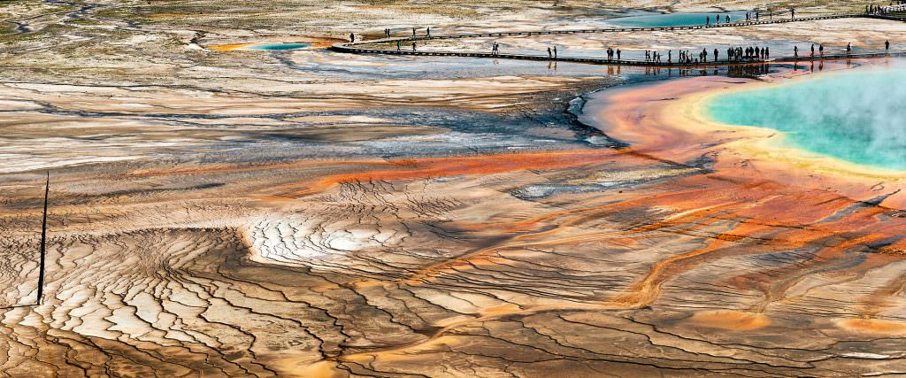 Grand Prismatic - Yellowstone National Park, WY - USA