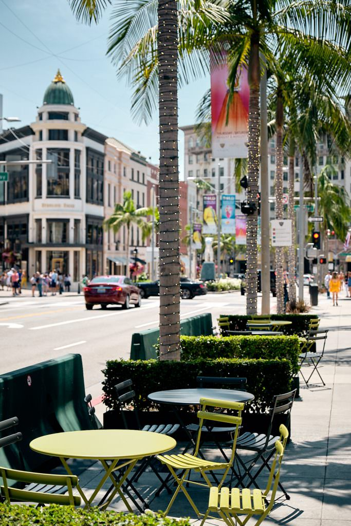 Rodeo Drive - Beverly Hills, CA - USA