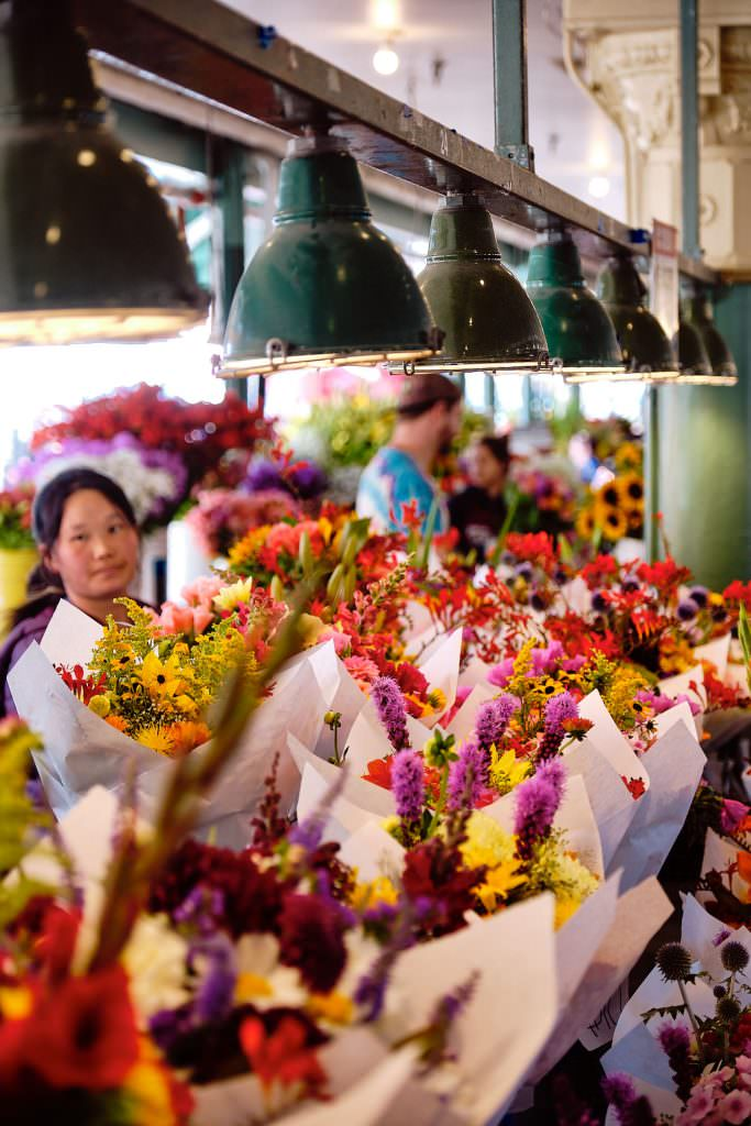Pike Place Market - Seattle, WA - USA