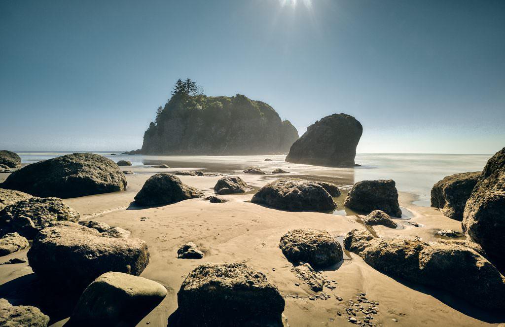 Ruby Beach, WA - Etats Unis