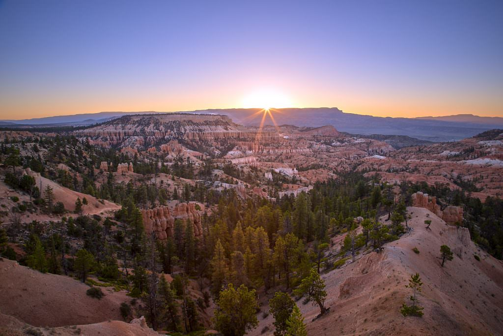 Sunrise over Bryce Canyon, UT - USA