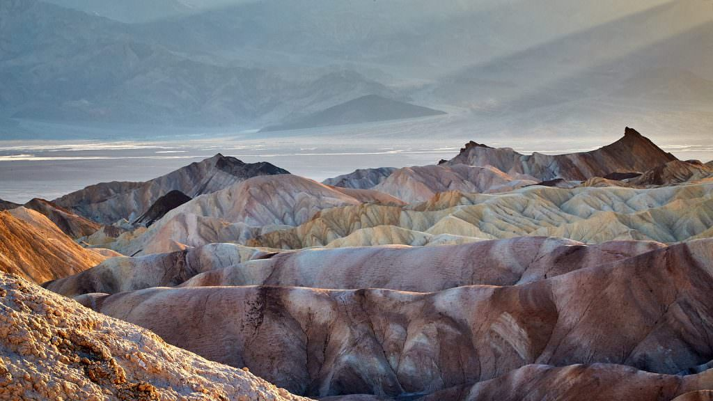 Zabriskie Point - Death Valley, CA - USA