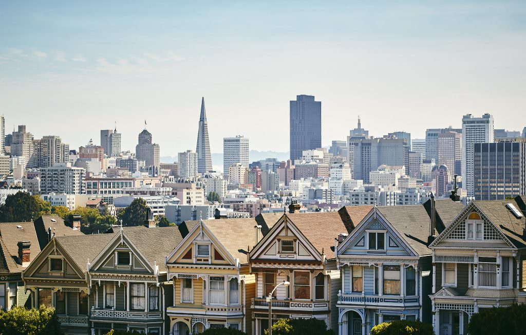 The Painted Ladies - San Francisco, CA - USA