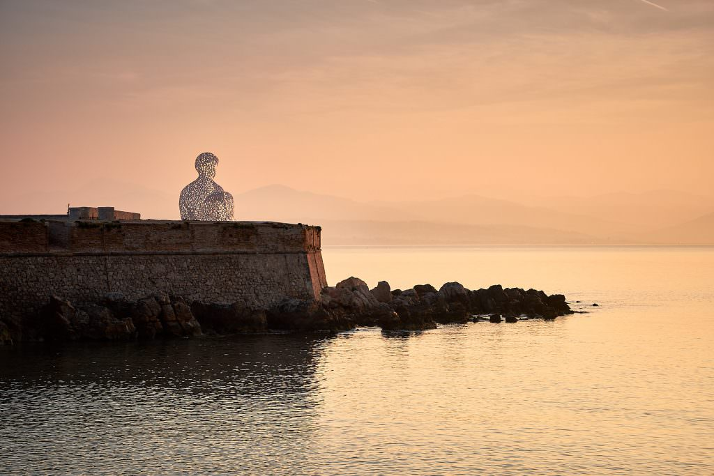 Sunrise on Le Nomade - Antibes - France