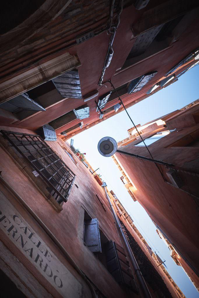 Narrow street - Venice - Italy