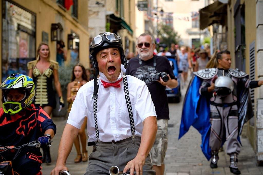 Fête de la St-Roch - Parade du Cirque Gruss - Valbonne